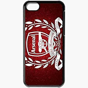 Personalized iPhone 5C Cell phone Case/Cover Skin Arsenal Sport 11938 Black