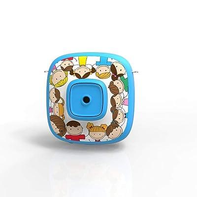 Kids Toy Camera Cámara for niños HD Videocámaras digitales for niños Micrófono de pantalla de 2 pulgadas Diseño antideslizante y antideslizante Festival de cumpleaños de Navidad Año Nuevo Regalo de ju