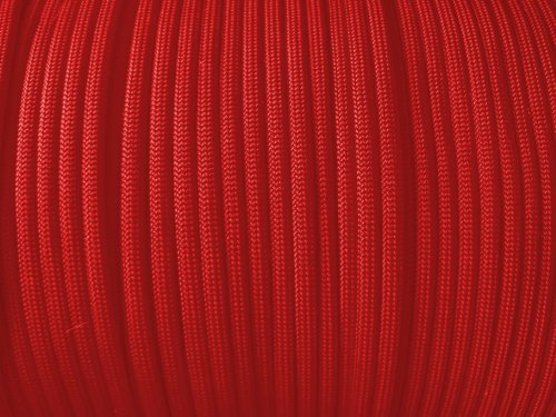 Imperial Red Paracord – 100 Feet / 100ft Parachute Cord, Outdoor Stuffs