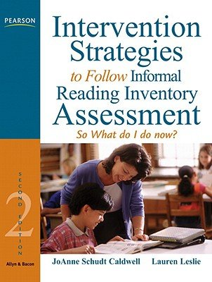 Download Intervention Strategies to Follow Informal Reading Inventory Assessment: So What Do I Do Now? [INTERVENTION STRATEGIES TO-2/E] ebook