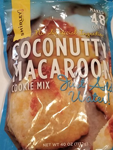 Shirley Coconut Macaroon Cookie Mix (Shirley Mix)