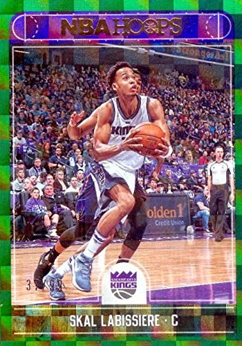 bc8d41428db Skal Labissiere basketball card (Sacramento Kings) 2017 Panini Hoops ...