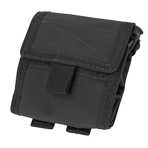 Condor Roll- Up Pouch (Black, 4.5 x (6 Mag Pouch)