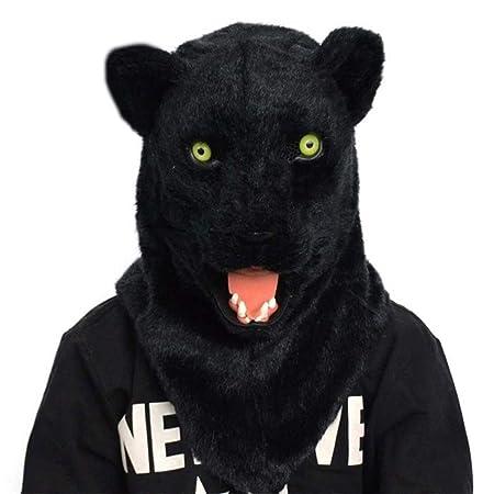 XIANCHUAN Scary Peludo Realista máscara de Leopardo de Nieve ...