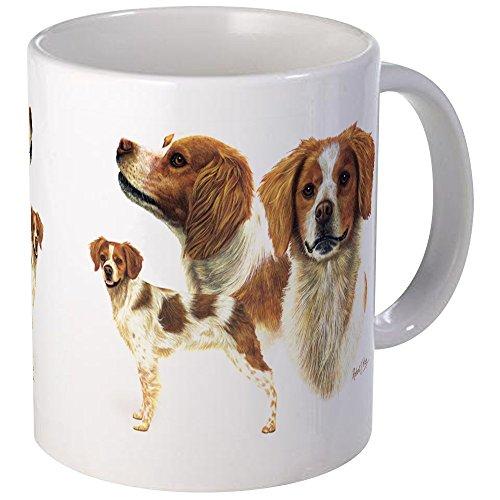 Spaniel Mug - Unique Coffee Mug, Coffee Cup (Brittany Cup)
