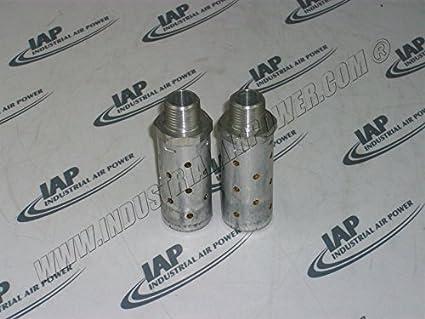 Silenciador de escape Kit, - diseñado para uso con Ingersoll Rand compresores de aire: Amazon.es: Amazon.es