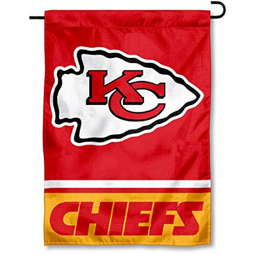 WinCraft Kansas City Chiefs Double Sided Garden Flag by WinCraft