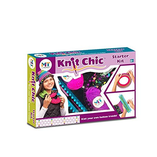 My Trendz Knit Chic Starter Children's Knitting Kit – Create Your Own Fashion Trends!