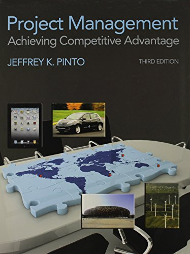 Project Management: Achieving Competitive Advantage & Microsoft Project 2010 Package
