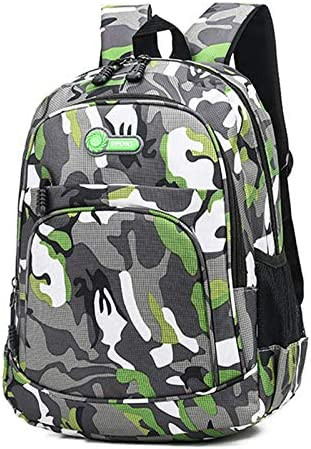 Dorime Sac /à Dos /école imperm/éable BagsBoys Enfants Cartable Camouflage Enfants Mochila Escolar Cartable