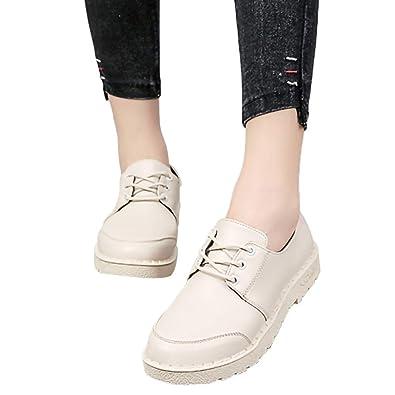 Femmes À Cuir Bottes Simples Sonnena De Mode Chaussures Lacets Yb76yvIfgm