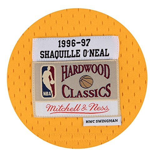 Amazon.com : Shaquille ONeal Los Angeles Lakers Mitchell & Ness NBA Throwback Gold Jersey : Sports & Outdoors