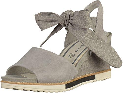 Tamaris1-1-28332-28/227 227 - Plataforma Mujer gris