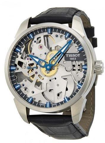 Tissot Men's T0704051641100 T-Complication Squelette Analog