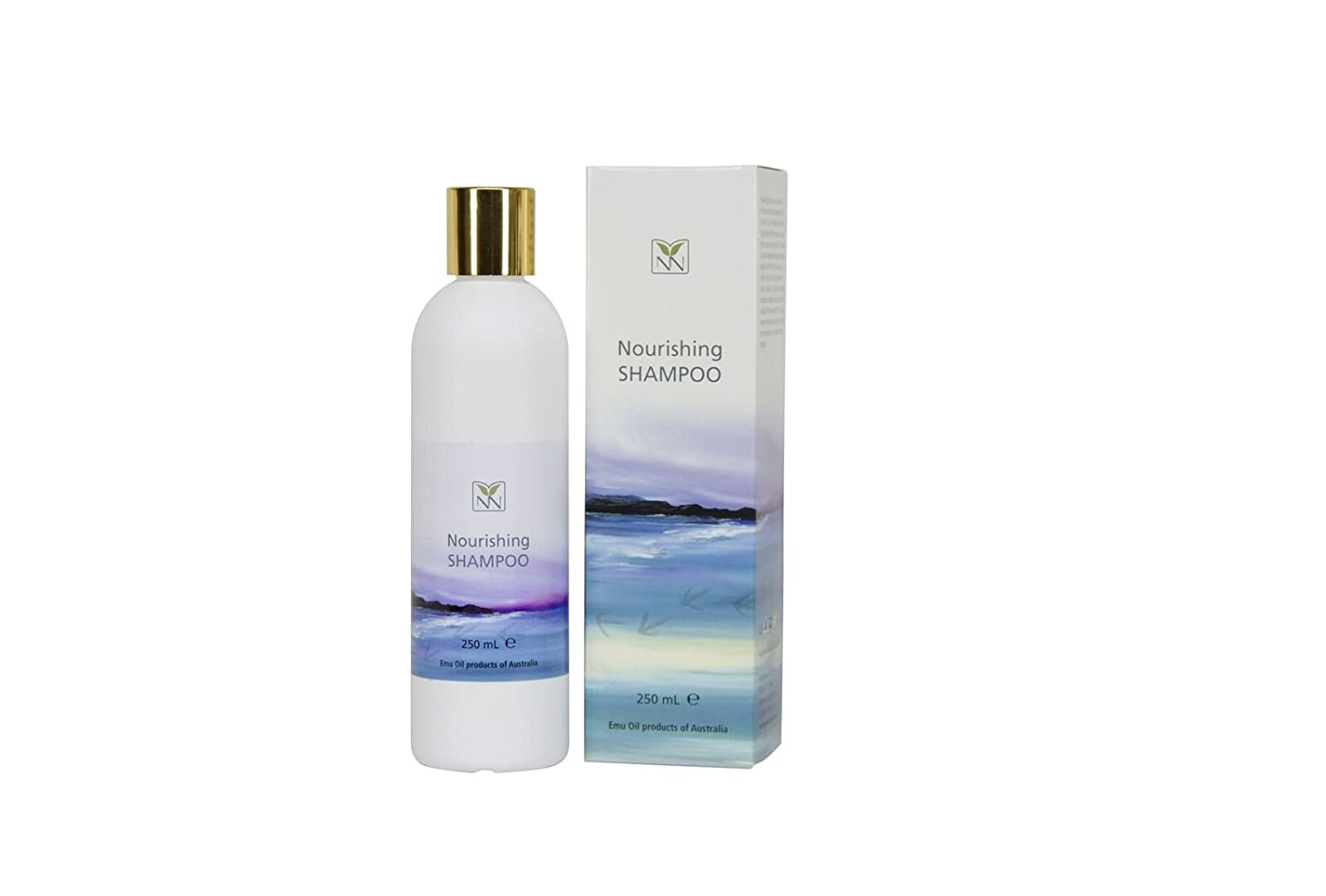 Luxury Natural Deep-Nourishing Shampoo with Australian Emu, Peppermint Oil, Ylang Ylang, and Rosemary - 8.5oz - The Ultimate Deep-Nourishing Shampoo to Rejuvenate, Repair, Revitalize, and Volumize