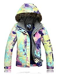 APTRO Women's Ski Jacket High Windproof Waterproof Technology Snow Jacket