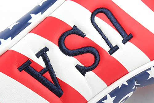Craftsman Golf Stars & Stripes American USA US Flag Fairway Wood Headcover Head Cover Replacement For Titleist Taylormade Callaway Mizuno Cobra Ping Adams by Craftsman Golf (Image #4)