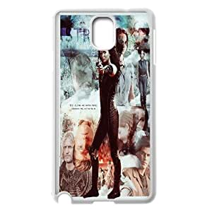 Unique Design -ZE-MIN PHONE CASE For Samsung Galaxy NOTE4 Case Cover -The Hunger Games Wallpaper Pattern 10