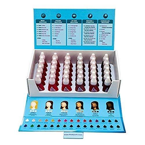 (36 Bottle Set BIO TOUCH PURE Permanent Makeup Pigment Lip Tone Tattoo Ink Color)