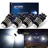 Best Led 3157s - AUTOGINE 4pcs 1000 Lumens 9-30V 3157 3156 3057 Review
