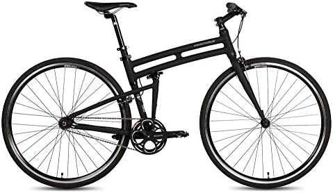Montague New Boston Folding 700c Pavement Hybrid Bike Matte Black