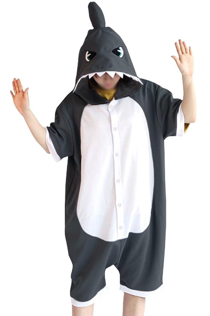 wotogold Pigiama di Squalo Animale Costumi Cosplay per adulti unisex