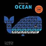 mosaic sticker by number - Sticker Art Ocean