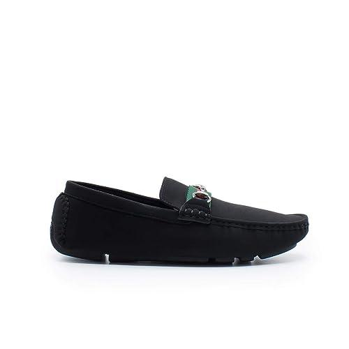 Zapshop Z80509 Mocasin de Color Negro para Hombre: Amazon.es: Zapatos y complementos
