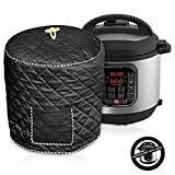 Pressure Cooker Cover - Custom Made Accessories - Fits 8 QT Instant Pot Models (Black 8 QT)