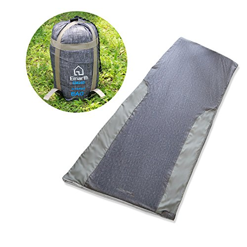 Emarth-Warm-Weather-Sleeping-Bag-Large-Compact-Envelope-Design-for-Temperatures-48-F-to-60-F