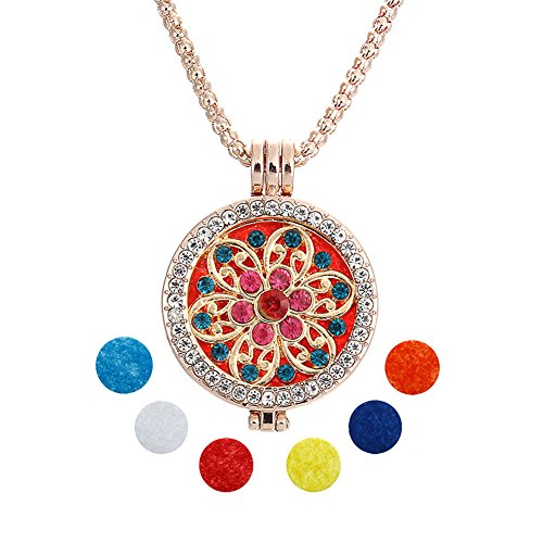 Sunflower Essential Oil Diffuser Necklace - Aromatherapy Jew