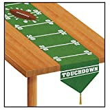 Printed Game Day Football Table Runner 11in. x 6ft. Pkg/3