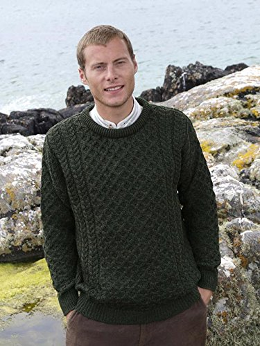 Merino Crew Neck Sweater Green ()