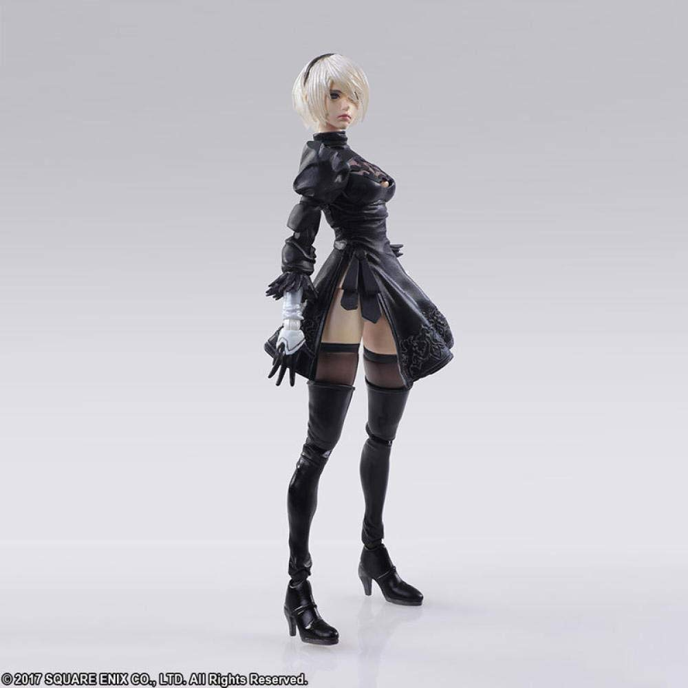 Cosstob Mechanical Age 2B Miss Sister Figura de acci/ón Personaje de Dibujos Animados Personaje Modelo Estatua