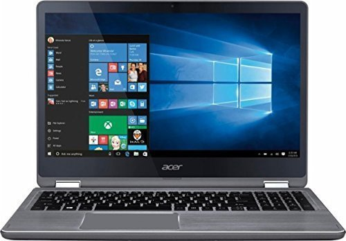 (2017 Acer Aspire 15.6 2-in-1 Convertible FHD IPS Touchscreen High Performance Laptop, Intel Core i5-7200U 2.5GHz, 8GB Memory, 1TB HDD, Backlit Keyboard, Bluetooth, Wi-Fi, Windows 10)