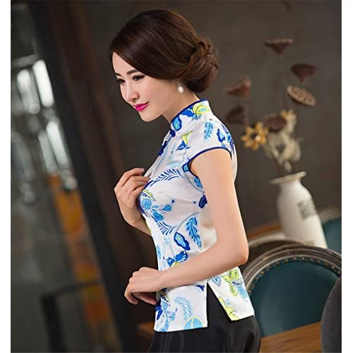 17662b5da Shanghai Story Chinese Blouse Cheongsam Top Qipao Ladies Tang Suit Shirt  good