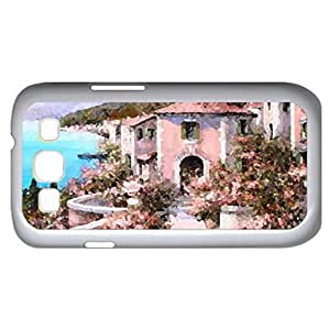 Lake Garda - Watercolor style - Case Cover For Samsung Galaxy S3 i9300 (White)
