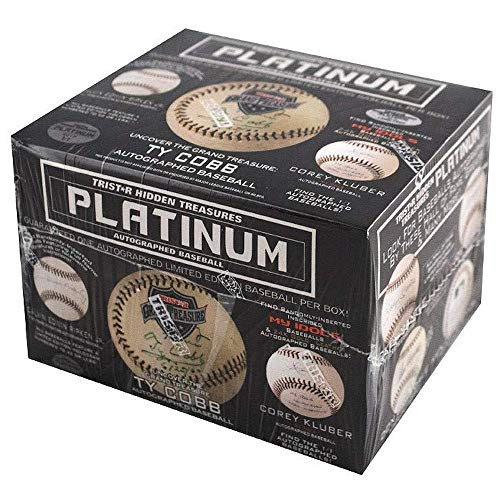 2019 Tristar Platinum Autographed Baseball box