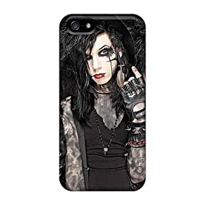 Scratch Resistant Cell-phone Hard Cover For Iphone 5/5s (IYv14916QpiI) Customized Fashion Asking Alexandria Band Image