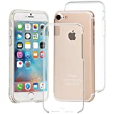 iPhone 7 Case-Mate Clear w/Clear Bumper Naked Tough Case