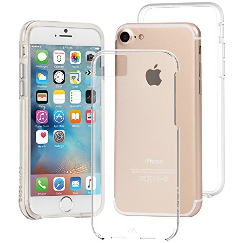 Case-Mate Naked Tough Case iPhone 7/6s/6 Clear, CM034670X (Clear)