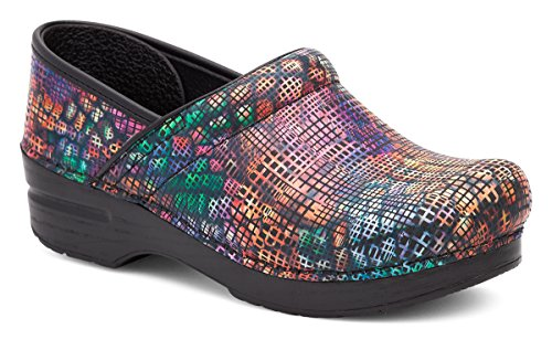 Dansko Women's Professional Mule, Stained Glass, 42 M EU / 11.5-12 B(M) US]()