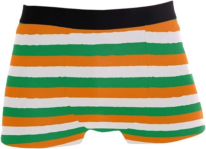 ZZKKO Polka Dot Mens Boxer Briefs Underwear Breathable Stretch Boxer Trunk with Pouch S-XL