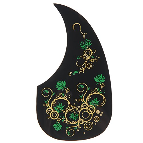 ttnight Professional Hummingbird Acoustic Guitar Celluloid Pickguard Scratch Plate Pick Guards Replacement Self-adhesive fit for 41