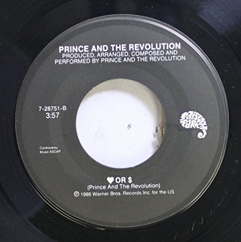 (Prince and the Revolution 45 RPM Love or Money / Kiss)