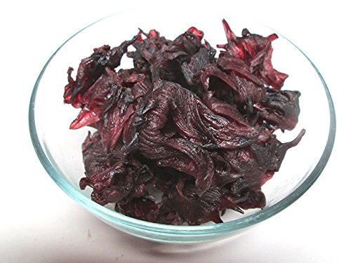 Dried Hibiscus Flowers, 2.2 pound bag -