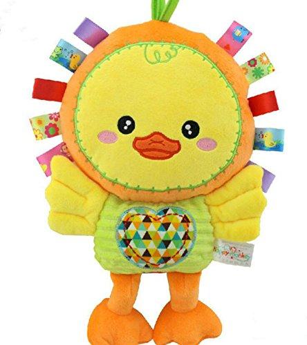 Sun Glower Edredón Juguetes Toalla de Algodón Marioneta de Mano Peluche de Felpa Juguete _Amarillo: Amazon.es: Juguetes y juegos