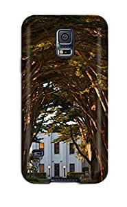 3609340K94905859 High-quality Durability Case For Galaxy S5(landscape Road)
