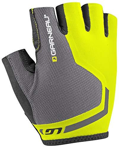 Louis Garneau Men's Mondo Sprint Bike Gloves, Bright Yellow, -