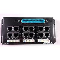 Suttle 12-Line EMTA-PBX Module SAM-VC12, RJ-21x to 12x RJ11, along with Multi-Line Accessory Kit